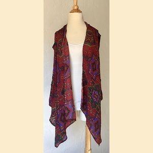 Egyptian Inspired Vest / Kimono